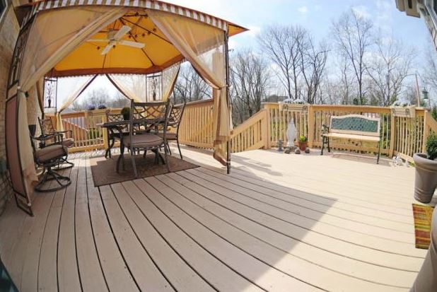glass covered deck ideas
