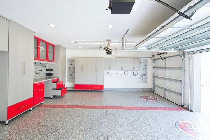 garage wall shelf ideas