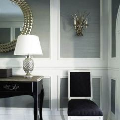 Chair Rail Pros And Cons Lucite Acrylic Chairs 30 Best Ideas Pictures Decor Remodel Trim Over Wallpaper