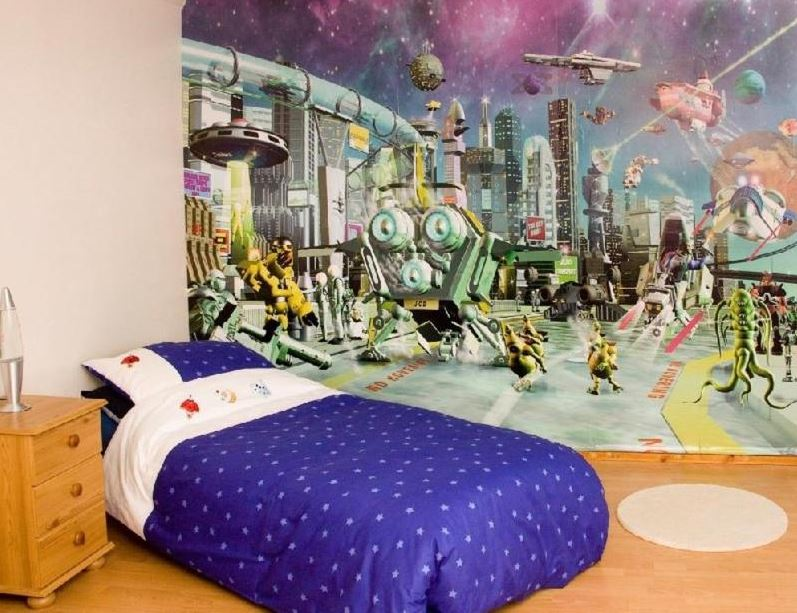 space themed room decor