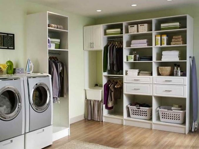 basement laundry room ceiling ideas