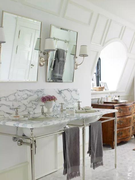 bathroom mirror ideas home depot