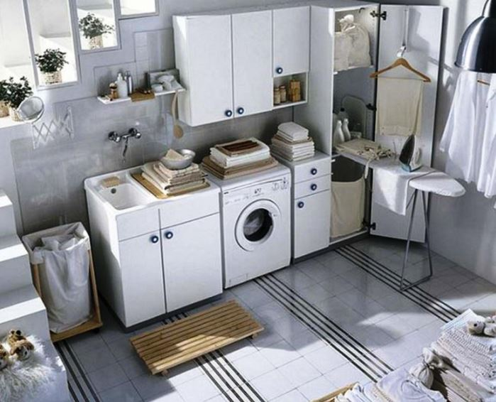basement laundry room decorating ideas