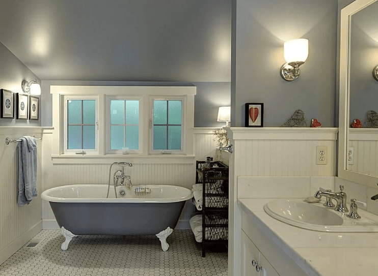 Low Ceiling Bathroom Ideas