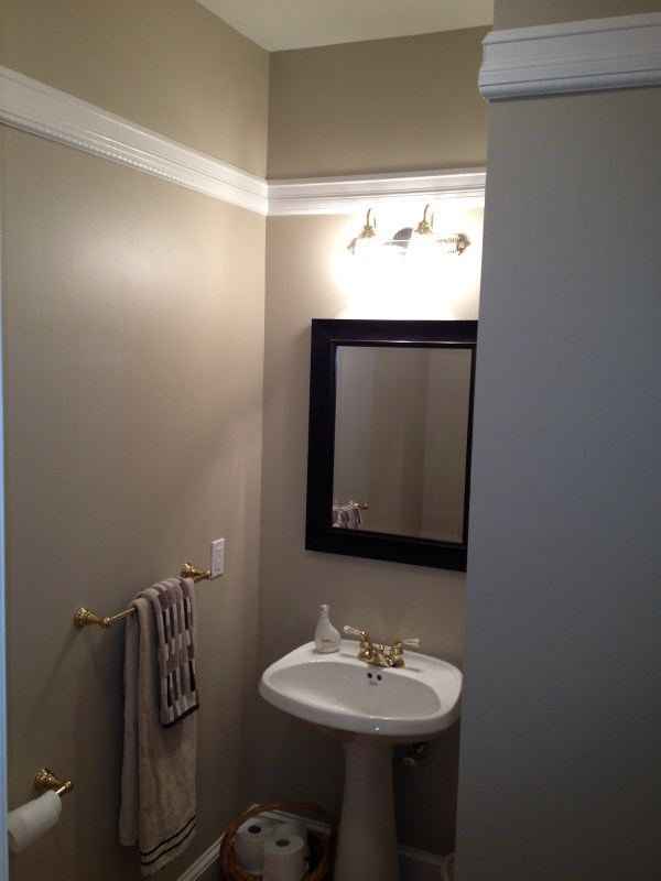 Bathroom Tall Chair Rail