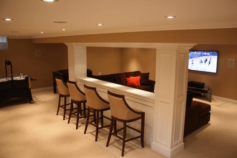 basement mini bar