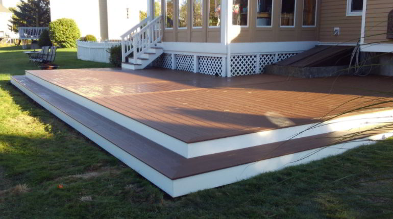 Wide deck
