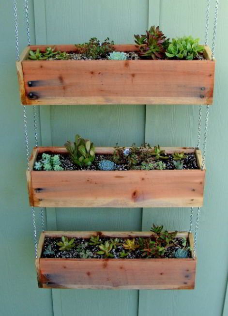 Awesome deck planter ideas