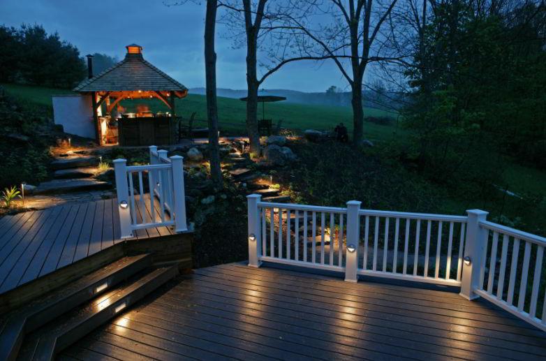 deck Rail Light Idea