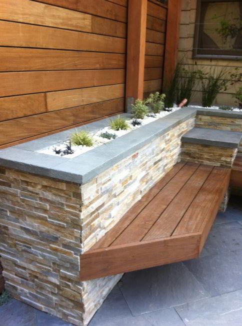 Stone Planter Box