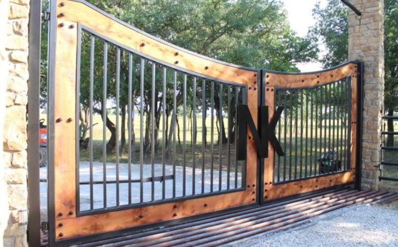 Metal Driveway Gate Design