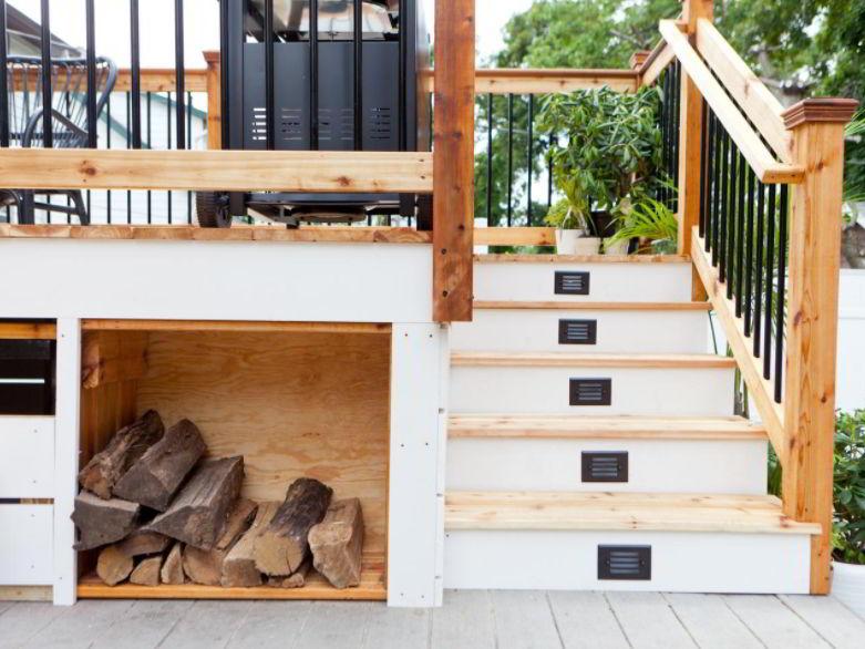 deck storage concept