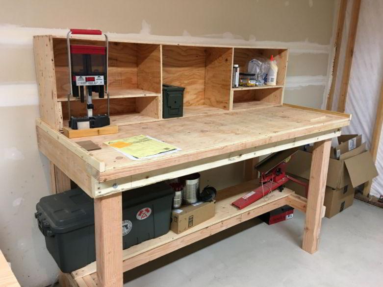 Wooden Reloading Bench Ideas