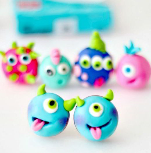 Cutest Monster Earrings Craft