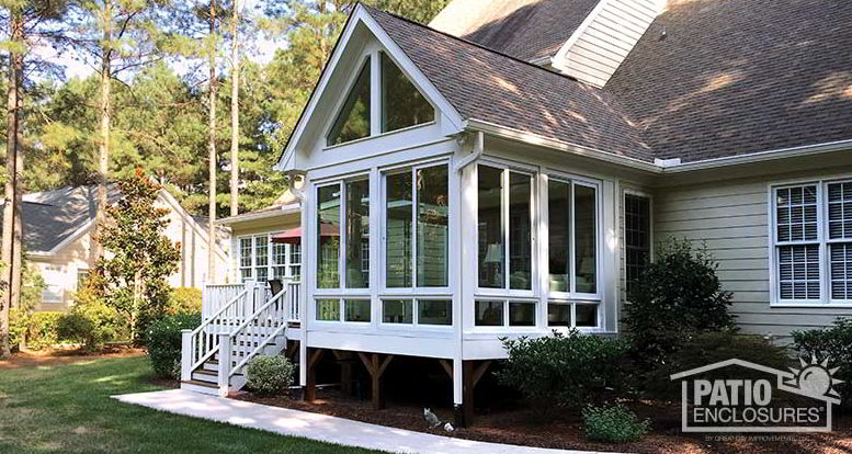 Enclosed Deck with Sun Room Model