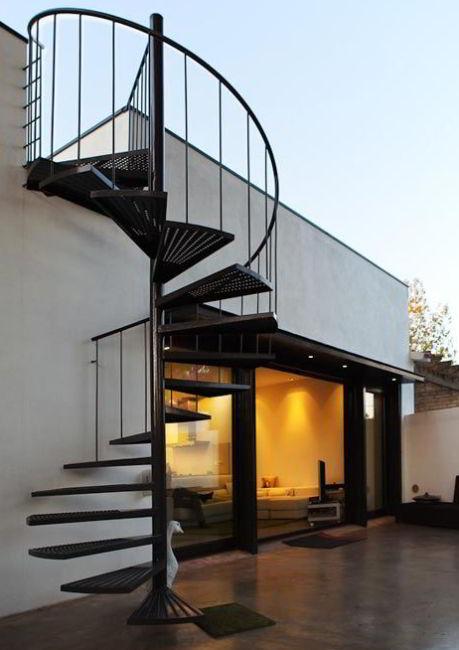 Mid Terrace Spiral Ideas