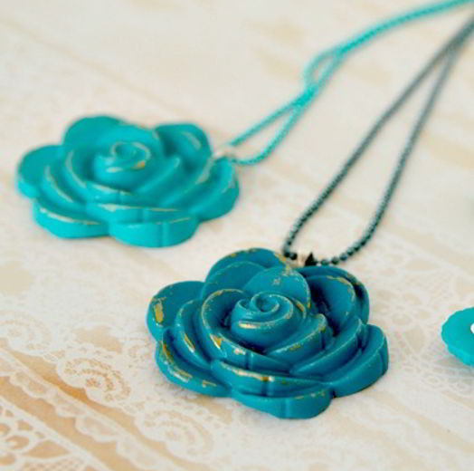 Polymer Rose Jewelry Craft