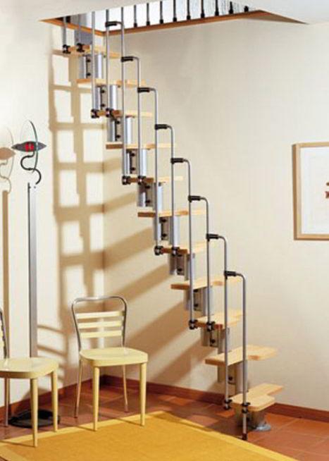 Retracting Loft Staircase Design
