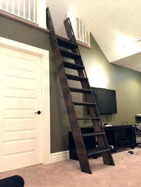 Small Loft Ladder Staircase Ideas