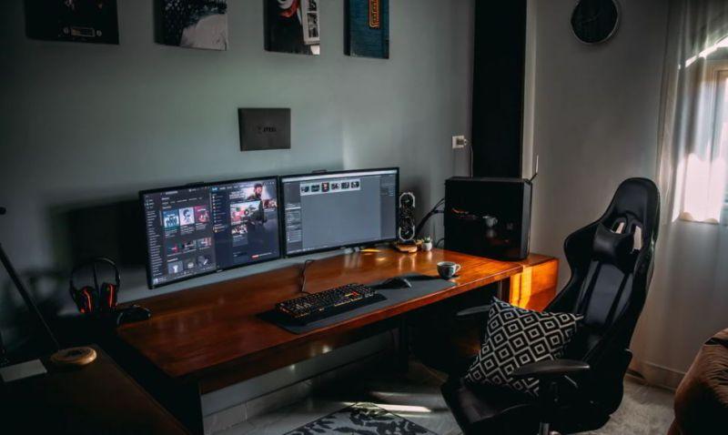diy dual computer desk ideas