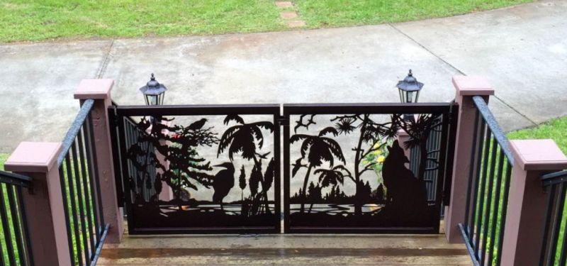 Deck gate ideas