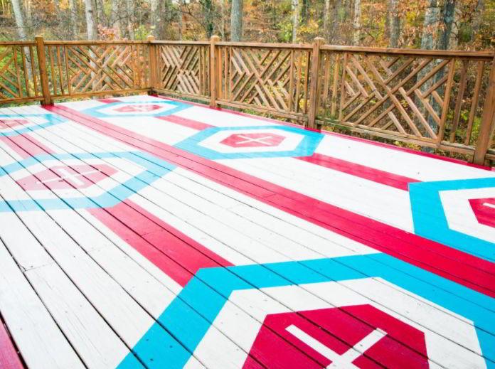 best deck color ideas