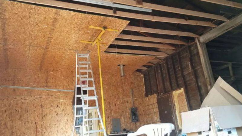 Board Garage Ceiling Ideas