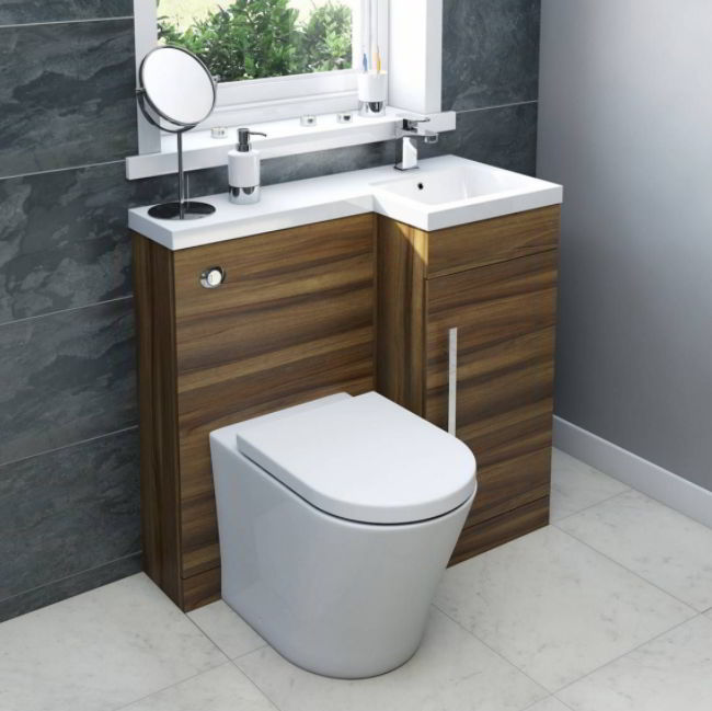 Wooden Toilet Sink Ideas