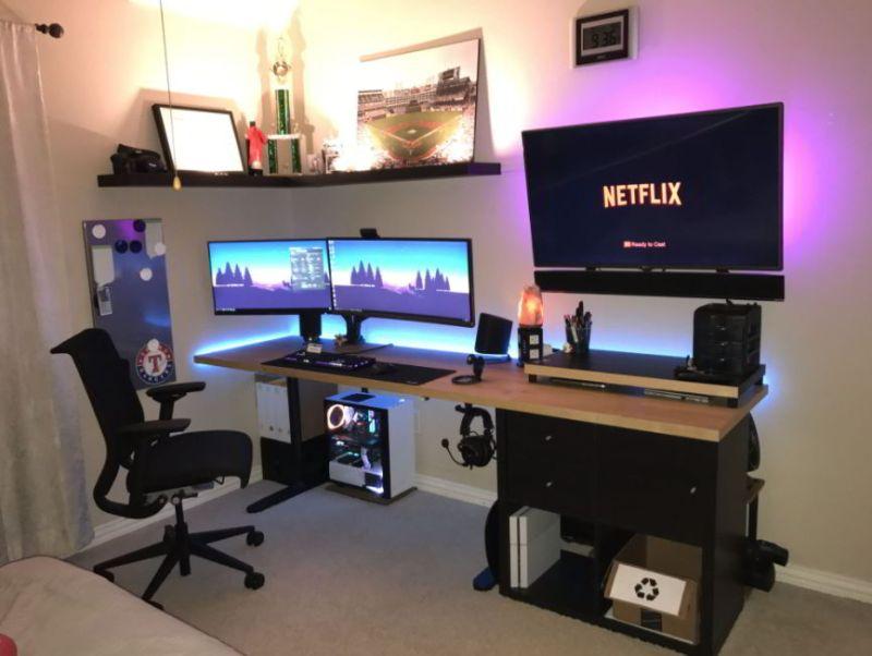 diy gaming room design
