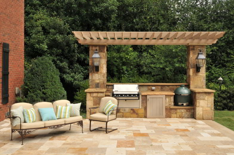 Grill On The Kitchen Design