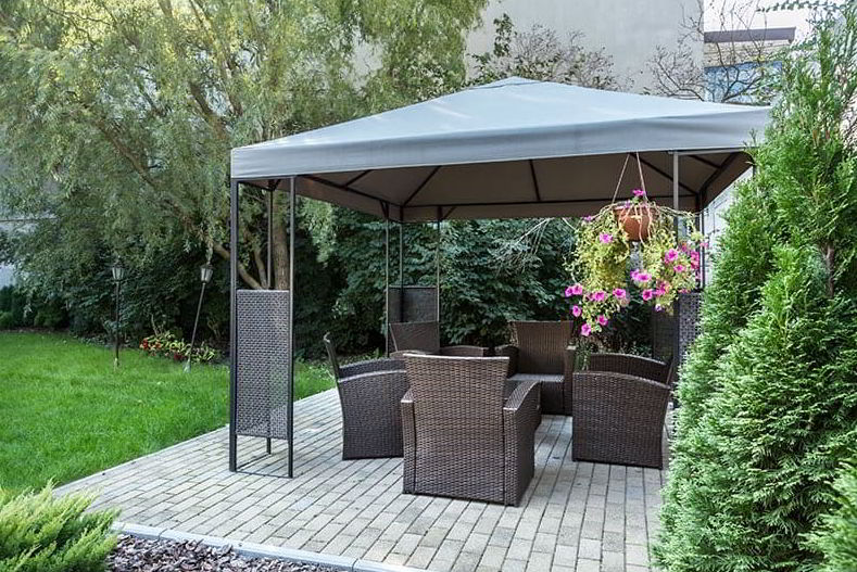 gazebo shade idea