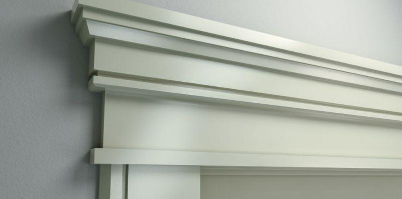 Modern Craftsman Header Molding