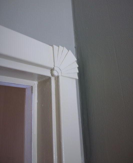 Art Deco Corner Molding