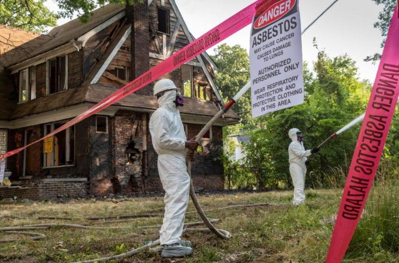Exposure to asbestos is dangerous