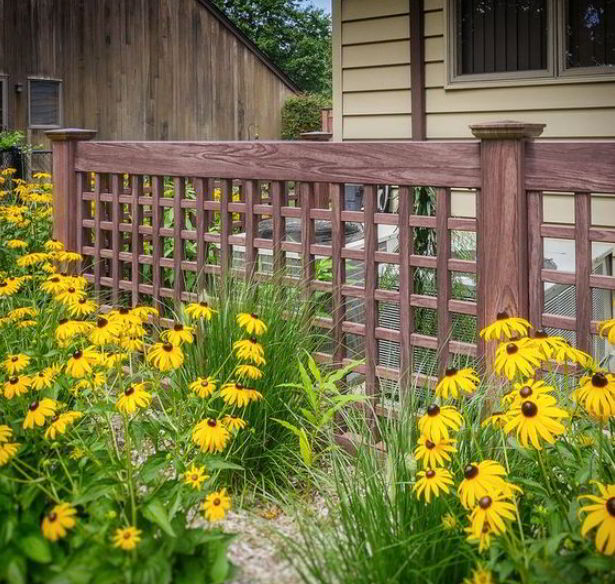 Colorfully Earthy Fence