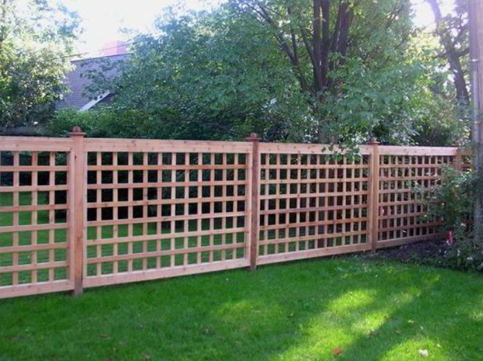 Simple Rustic Fence