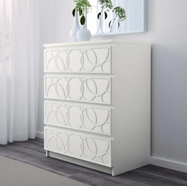 Beautiful Patterns for Ikea Malm
