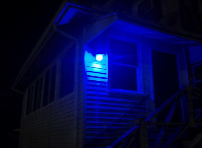 Blue Porch Light Colors
