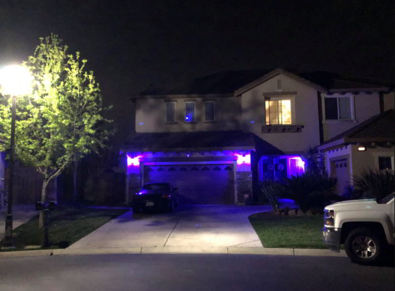 Porch Light Purple Meaning