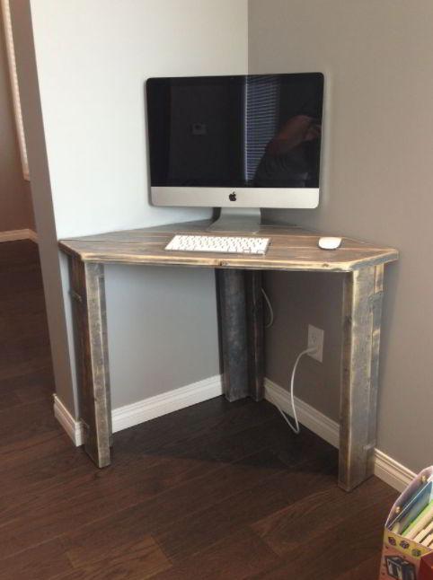 Small Corner Desk Design