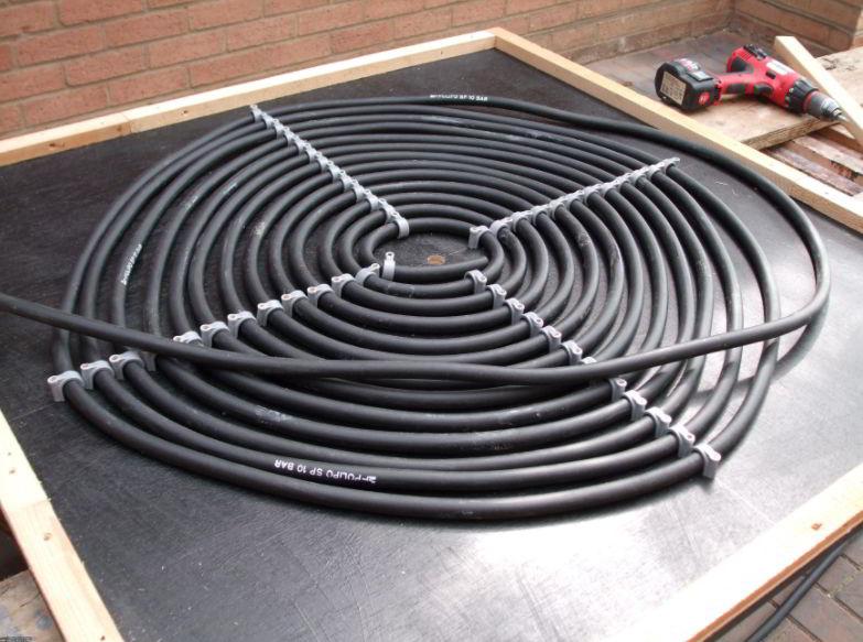 diy solar pool for heater