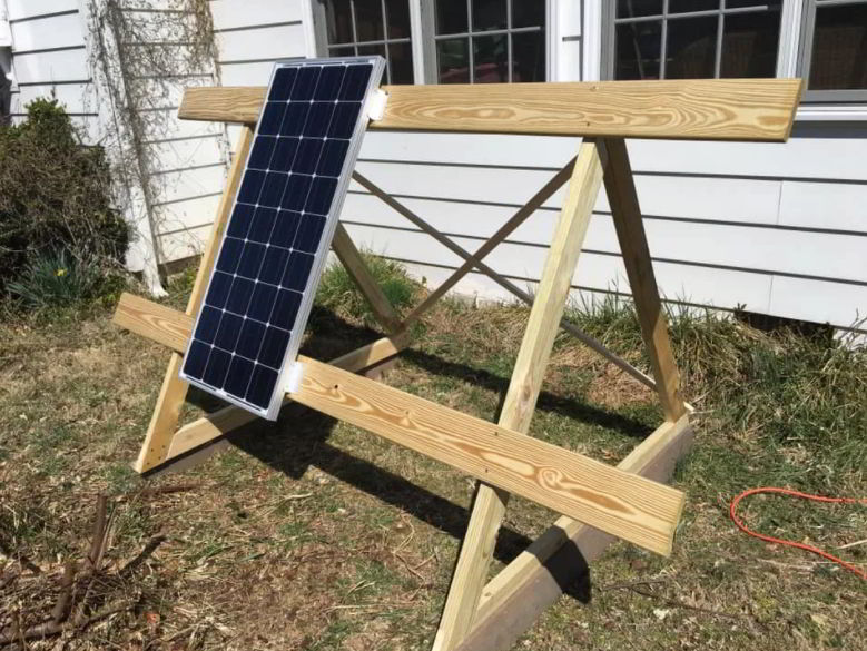 Solar Charger Station Ideas