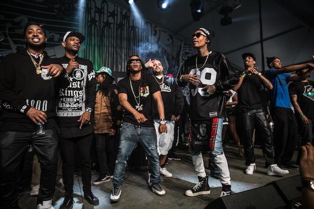 """Wiz Khalifa And Taylor Gang Drop """"TGOD Vol. 1"""" Mixtape"""