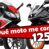 Mejores motos de 125cc