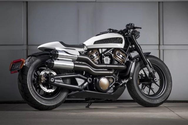 harley davidson custom 1250 prototipo
