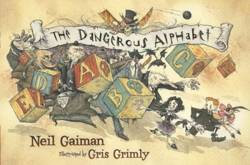The Dangerous Alphabet neil gaiman gris grimly pirates childrens book