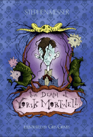 The Death Of Yorik Mortwell Stephen Messer Edward Gorey gris grimly
