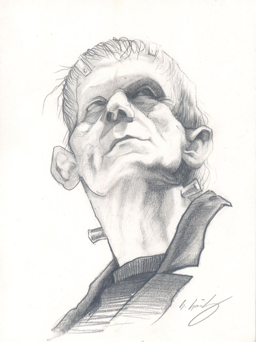 Frankenstein Pencil