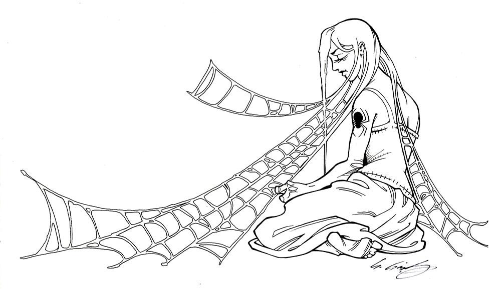 Spidermotherweb Bw