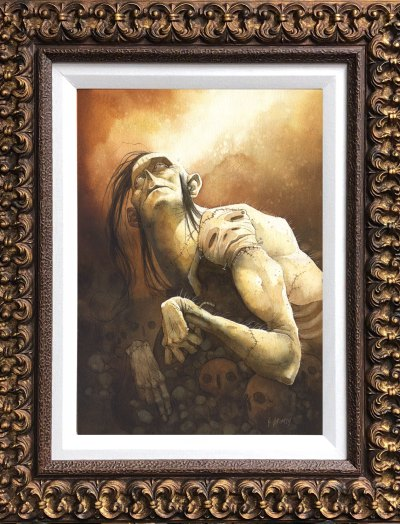 Wretchofsorrows Framed